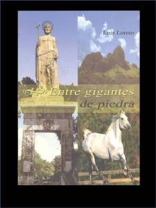 Portada del libro entre gigantes de piedra